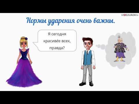 """Видеоурок по русскому языку """"Орфоэпия"""""""