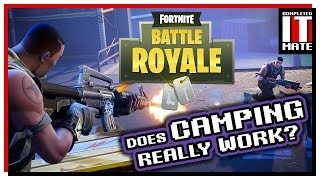 Fortnite Battle Royale - France Le camping fonctionne-t-il vraiment?