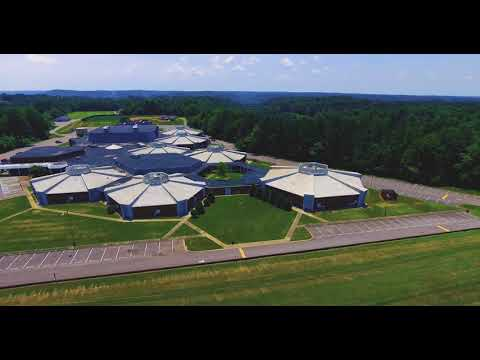 Cheatham County Central High School From Above
