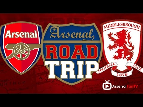 Road Trip To The Emirates - Arsenal  v Middlesbrough