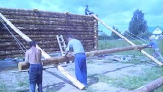 Как построить сельский дом. Рубим срубы(, 2011-08-04T06:31:42.000Z)