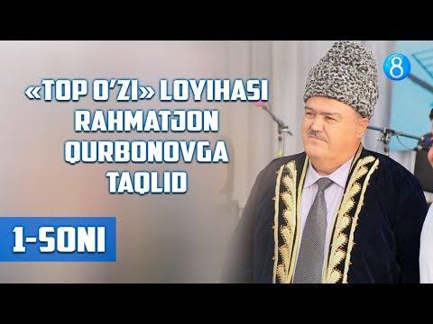 «TOP O'ZI» loyihasi Rahmatjon Qurbonovga taqlid (1-soni)
