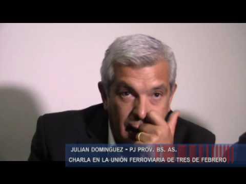 Julian Dominguez haciendo politica por Tres de Febrero