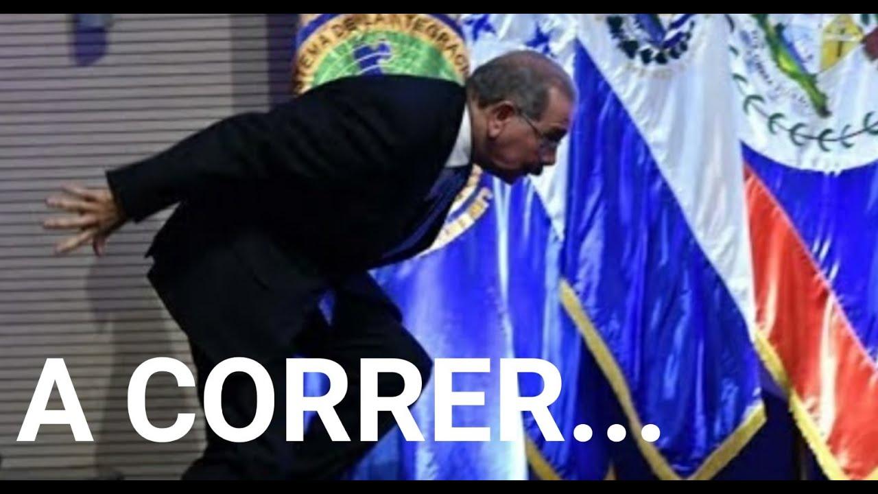 Danilo Medina huye a la juramentación de Luis Abinader
