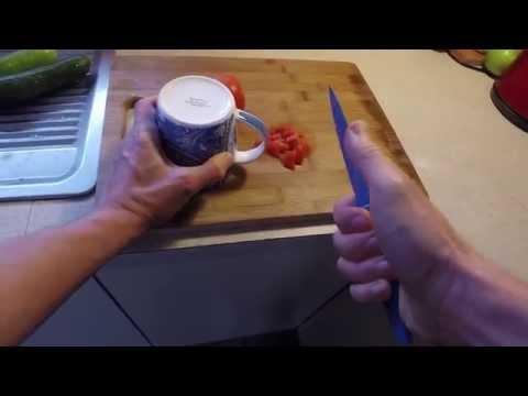 Un cuchillo, una taza y un truco imperdible
