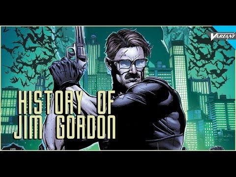 History Of Commissioner Jim Gordon!