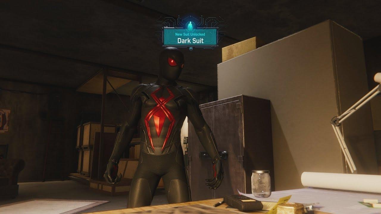 Spider Man Ps4 Black Cat Dark Suit Secret Unlock 1080p Hd