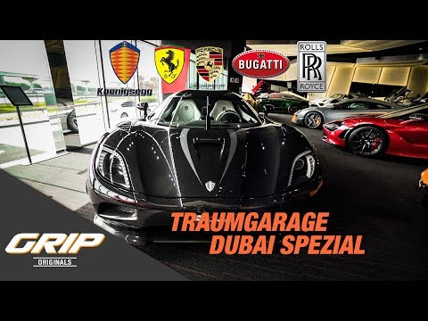 Traumgarage mit Koenigsegg Agera R – Dubai Edition | GRIP Originals