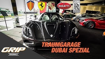 Traumgarage mit Koenigsegg Agera R - Dubai Edition | GRIP Originals