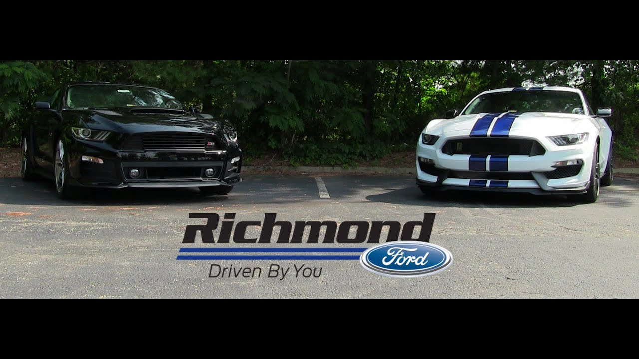 Roush Stage 3 >> Ford Mustang: Roush Stage 3 vs. Shelby GT350 - YouTube