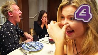 Made In Chelsea Stars Lose It Over Farting!!   Made In Chelsea Does Come Dine With Me