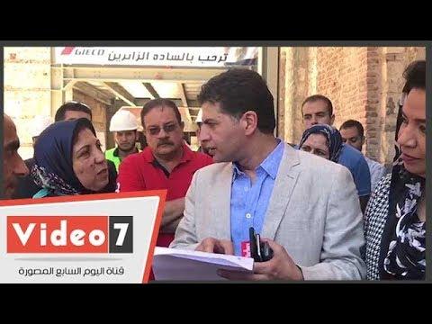 """نائب يسأل عن الآثار المنقولة من المتحف الروماني.. وعاملون : -اللي يعرف مش موجود""""  - 14:26-2018 / 7 / 11"""
