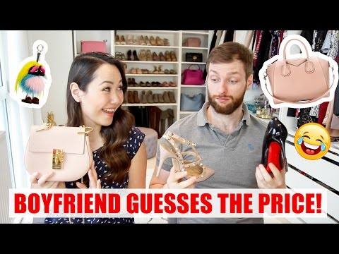 BOYFRIEND GUESSES THE PRICE OF LUXURY GOODS