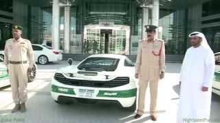 Dubai Police Force Fastest Police Cars On Earth   شرطة دبي mp4