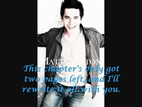 David Archuleta - The Day After Tomorrow [Lyrics]