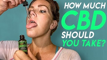 CBD Oil Dosage: How Much CBD should I Take? For Beginners