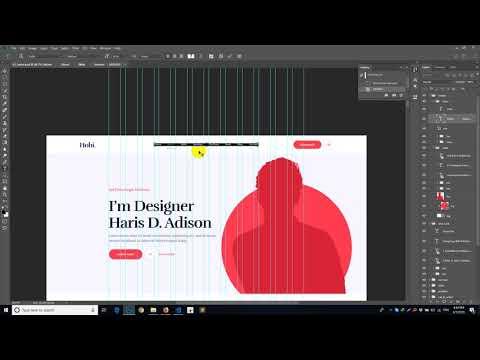Portfolio Psd To HTML Class #1 | Salim Rana
