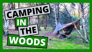 Camping in the Woods |🔥 Cooking over a fire