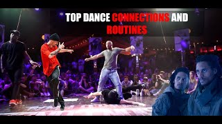 TOP DANCE CONNECTIONS AND ROUTINES PT 1 OLD BUT GOLD