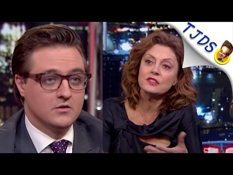 Chris Hayes FAILS MISERABLY Trying To Smear Susan Sarandon Again