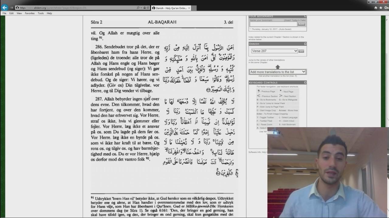 Koranen vers om Dating