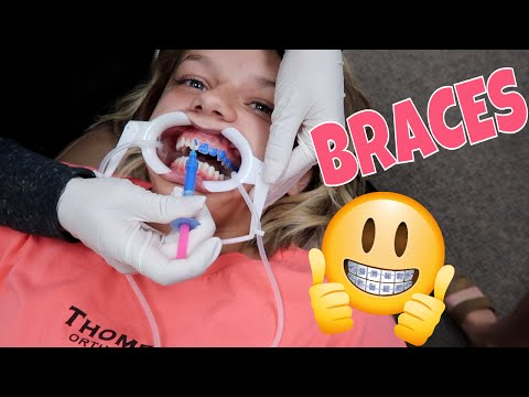 She's Nervous And Scared | She's Getting BRACES