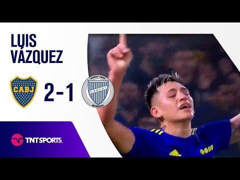 ¡GOLAZO DE BOCA! Luis Vázquez   Boca Juniors vs Godoy Cruz (2-1)   Fecha 17 - Torneo de la Liga 2021