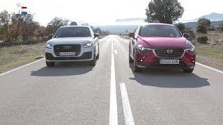 Audi Q2 VS. Mazda CX-3: ¿cuál es mejor compra?   CAR AND DRIVER