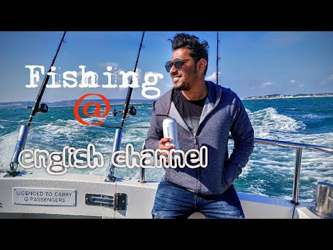 Fishing 🎣 At English Channel   Sneak Peek   Poole Harbour   Bournemouth