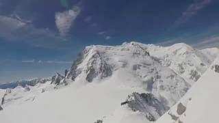 Avalanche Mont Blanc du Tacul