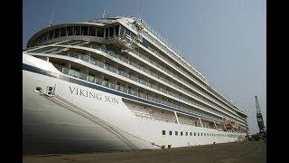 Inside the luxury cruise ship 'Viking sun'
