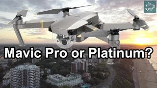 DJI Mavic Pro or Mavic Platinum? Sunrise Flight with Mavic (4K)
