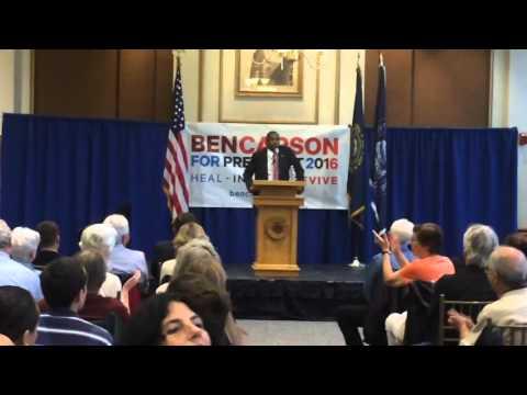 Ben Carson denying evolution and climate change
