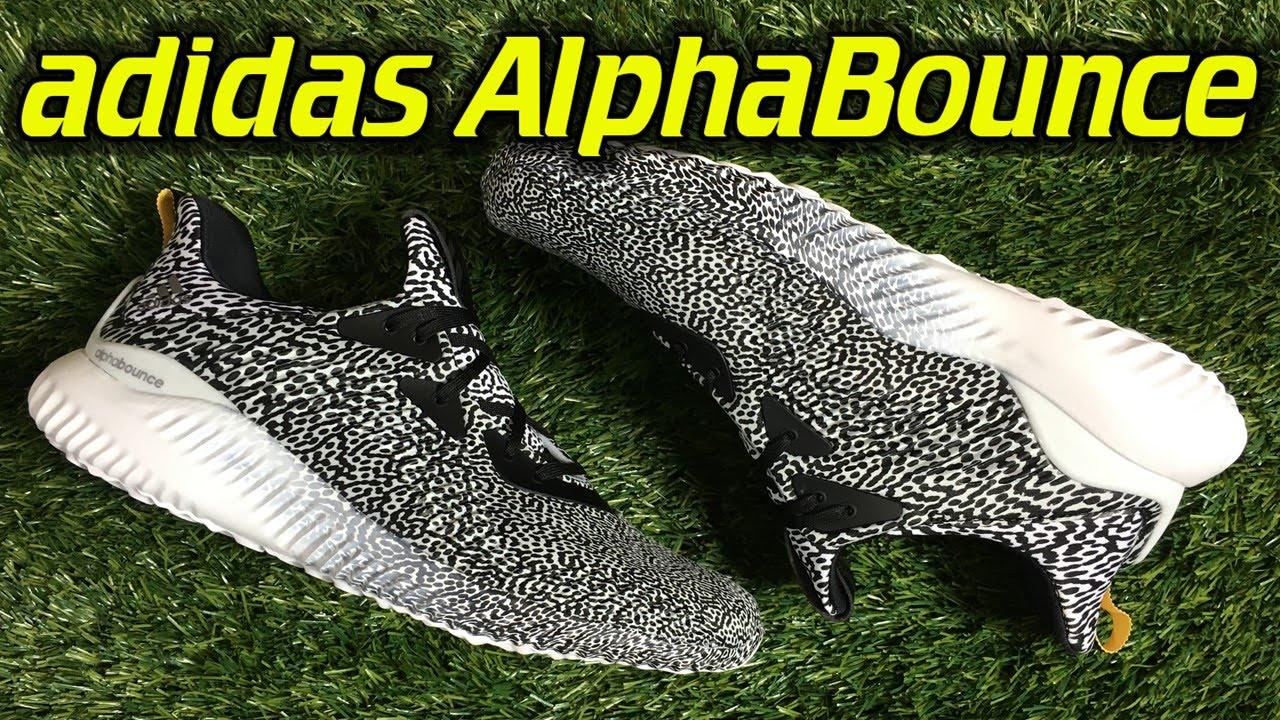 la meilleure attitude f9cb9 dad4e Adidas AlphaBounce - Review + On Feet