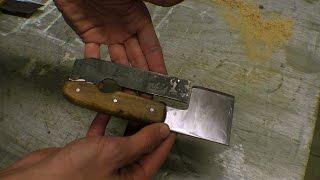 Plane Iron Axe / Mini Bamboo Splitting Knife / Hatchet