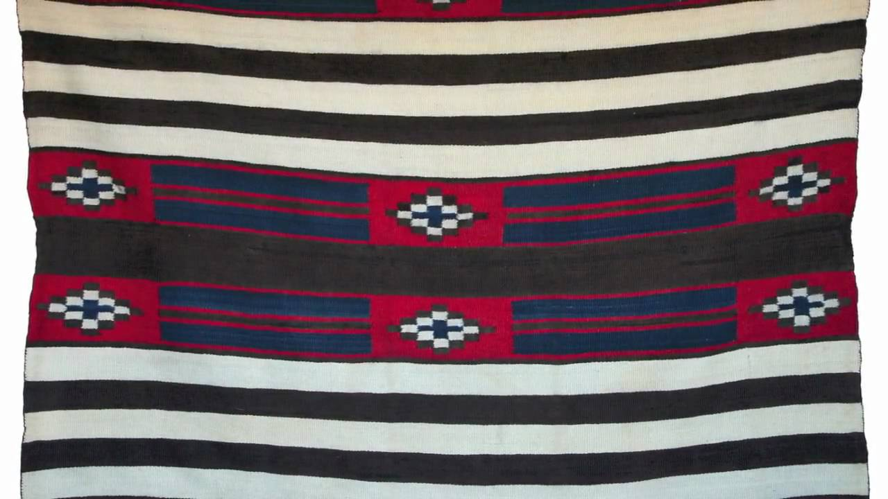Native American Indian Blankets How To Identify A Navajo Chiefs Blanket
