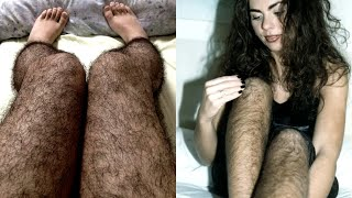 Девушки с волосатыми ногами - это сегодня модно!?