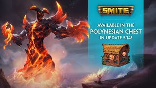 SMITE - New Skins in the 5.14 Polynesian Chest!
