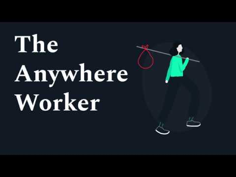 The Anywhere Workers - Remote work & Digital Nomad Study (2018)