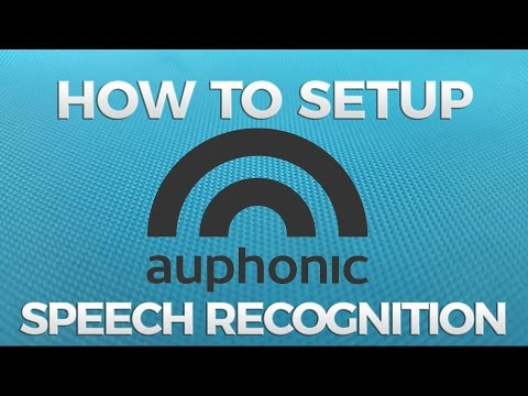 How to Setup Auphonic Speech Recognition for Automatic Transcription