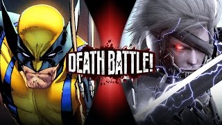 Repeat youtube video Wolverine VS Raiden | DEATH BATTLE!