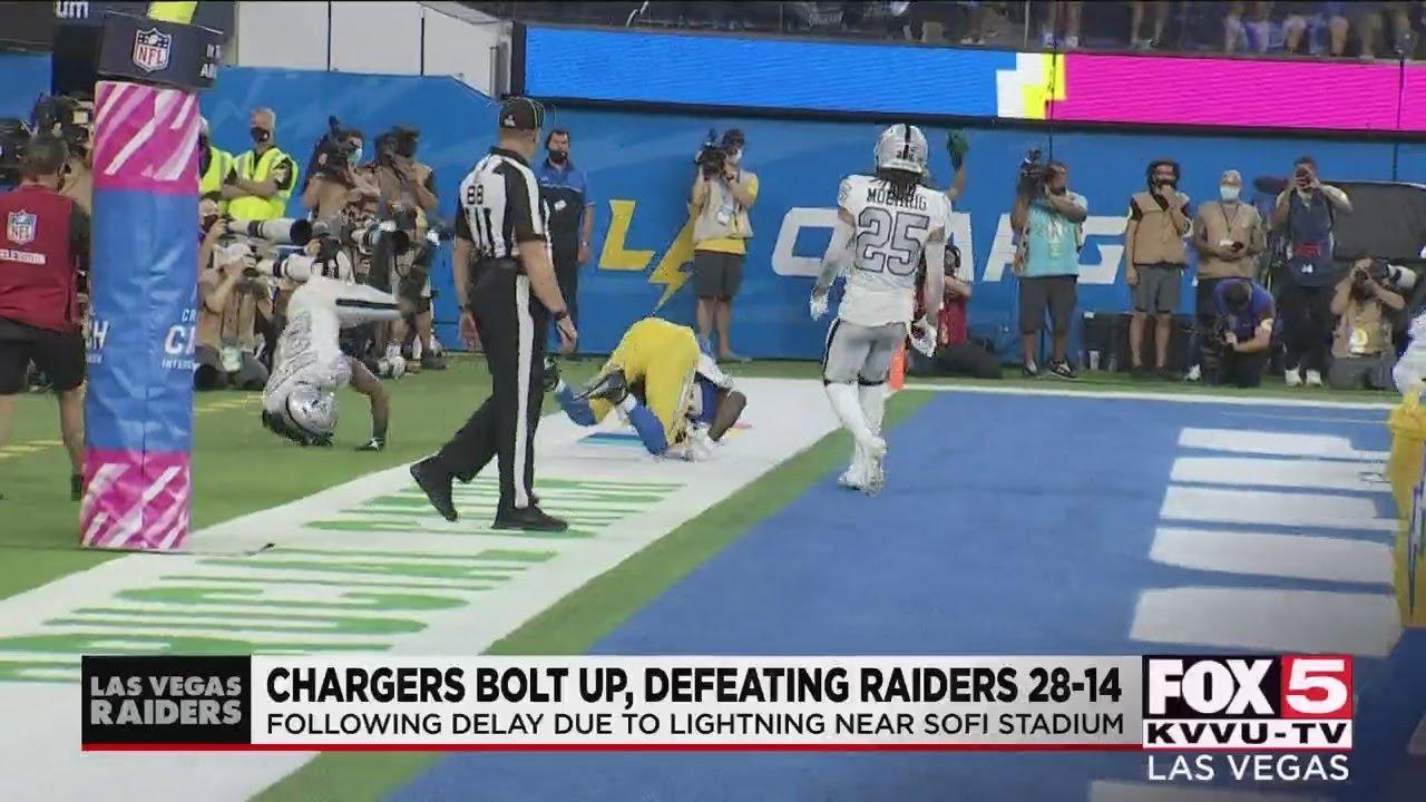 Herbert, Ekeler propel Chargers to 28-14 win over Raiders