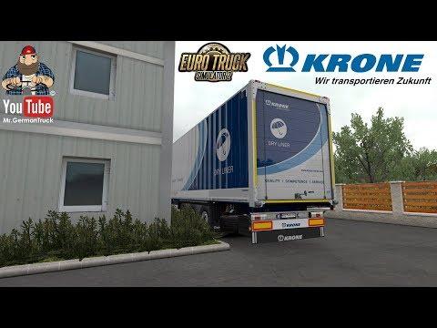 [ETS2 V1.32] Euro Truck Simulator 2 - Krone Trailer Pack DLC