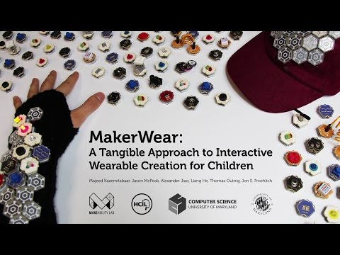 MakerWear: A Tangible Approach to Interactive Wearable Creation for Children