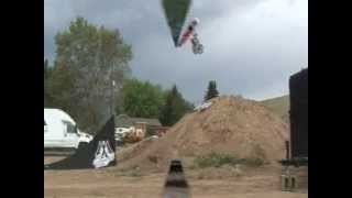 kyle bisconer pit bike fmx mmx freestyle demo backflip 12mmp
