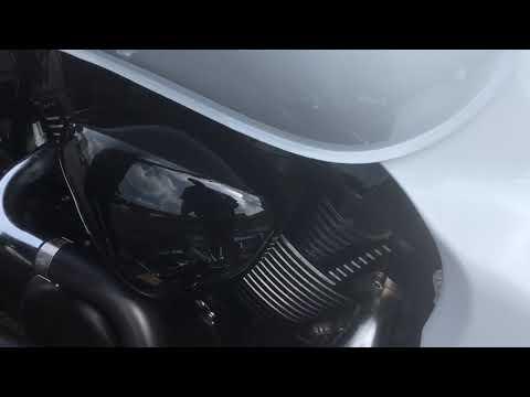 Suzuki M109R exhaust M1800 VZR1800 Freedom combat 2 into 1 Black Uk