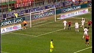Serie A 2004/2005: AC Milan vs AS Roma 1-1 - 2004.11.07