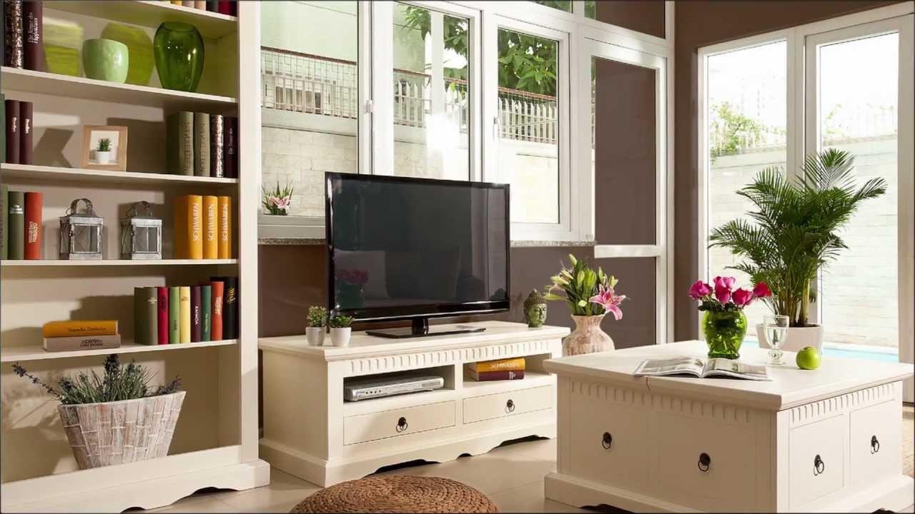Kolonialstil Oder Landhaus? Eine Frage Der Farbe. Möbelserie Antonie Aus  Pinie.   YouTube