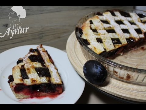 Mürdüm Erikli Kafes Pasta Tarifi-  Klasik Alman Pastasi# Gedeckter Pflaumen Kuchen Rezept
