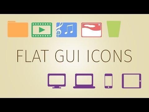 CREATE: Flat GUI Icon Design